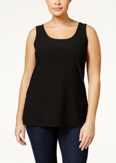 Alfani Plus Size Tank Top, Only at Macy's