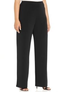 Alfani Plus Size Wide-Leg Soft Pants