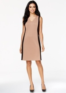 Alfani Prima Colorblocked Scuba Dress, Only at Macy's
