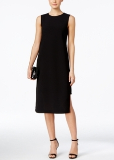 Alfani Prima Crepe Overlay Sheath Dress, Only at Macy's