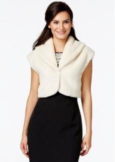 Alfani Prima Cropped Faux-Fur Bolero Sweater, Only at Macy's