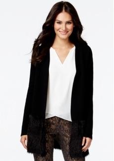 Alfani Prima Eyelash-Hem Long Cardigan Sweater, Only at Macy's