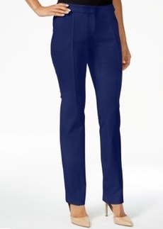 Alfani Prima Front-Seam Straight-Leg Pants, Only at Macy's