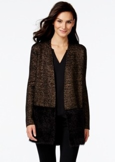 Alfani Prima Lurex Cardigan Sweater, Only at Macy's