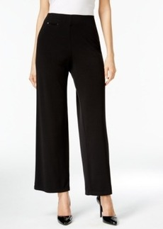 Alfani Prima Pull-On Wide Leg Pants, Only at Macy's
