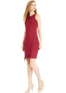 Alfani Prima Sleeveless Asymmetrical Sheath Dress, Only at Macy's