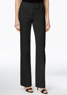 Alfani Prima Straight-Leg Extended Tab Trousers, Only at Macy's