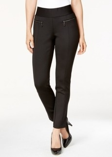 Alfani Prima Straight-Leg Scuba Dress Pants, Only at Macy's