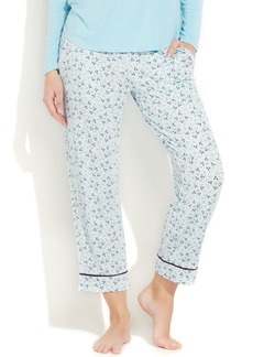 Alfani Printed Cropped Pajama Pants