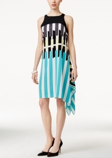 Alfani Printed Handkerchief Dress, Only at Macy's