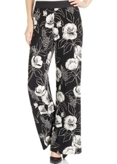 Alfani Printed Knit Palazzo Pants, Only at Macy's