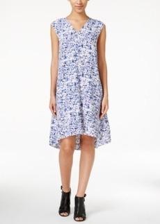 Alfani Printed Trapeze Dress, Only at Macy's