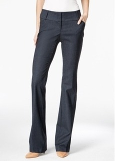 Alfani Refined Denim Bootcut Trousers, Only at Macy's