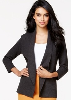 Alfani Shawl-Collar Sweater Jacket, Only at Macy's