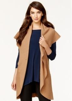 Alfani Shawl-Collar Wool Cardigan Vest, Only at Macy's