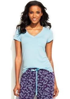 Alfani Short Sleeve Pajama Top