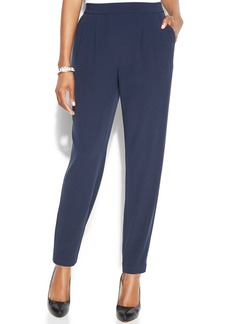 Alfani Slim-Leg Pleated Trousers