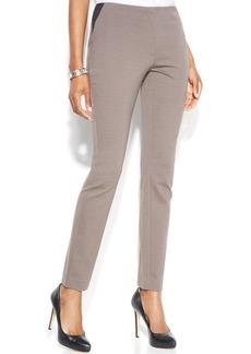 Alfani Slim-Leg Ponte Pants
