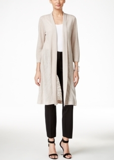 Alfani Solid Duster Cardigan, Only at Macy's