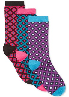 Alfani Spectrum English Tapestry Crew Socks