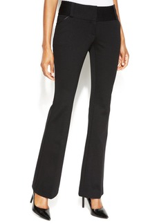 Alfani Straight-Leg Tummy-Control Trousers