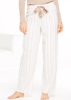 Alfani Stripe Pajama Pants