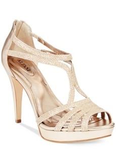 Alfani Tacy Evening Platform Sandals Women's Shoes