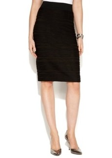 Alfani Textured Pencil Skirt