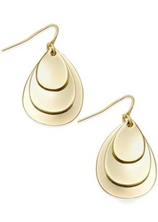 Alfani Triple Petal Drop Earrings