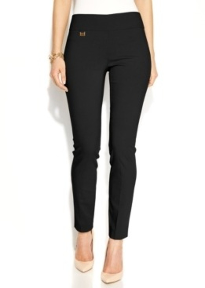 Alfani Alfani Tummy Control Skinny Pants Only At Macy S