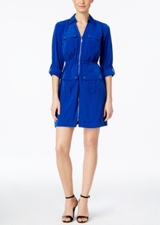Alfani Utility Shirtdress, Only at Macy's
