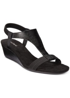 Alfani Vacanza Wedge Sandals, Only at Macy's Women's Shoes