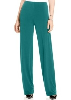 Alfani Wide-Leg Knit Dress Pants, Only at Macy's
