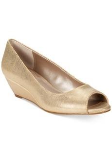 Alfani Women's Cammi Step N Flex Wedges Women's Shoes