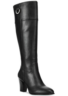 Alfani Women's Carcha Wide Calf Boots, Only at Macy's Women's Shoes