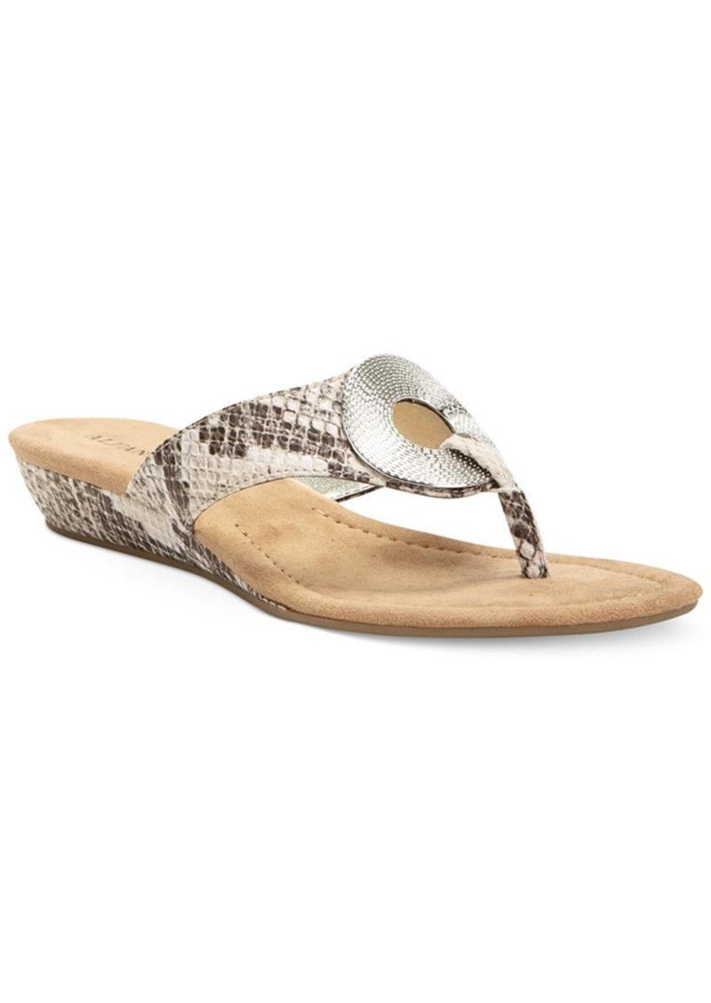 Alfani Women's Franca Ornament Thong Sandals