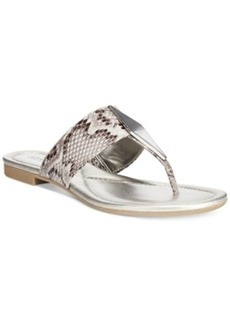 Alfani Women's Hannaah Thong Sandals, Only at Macy's Women's Shoes
