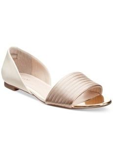 Alfani Women's Isszee Open-Toe Flats, Only at Macy's Women's Shoes