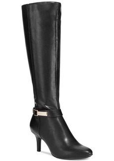 Alfani Women's Jemsey Wide Calf Dress Boots