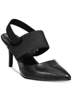 Alfani Prima Jolum Pointed-Toe Slingback Pumps Women's Shoes