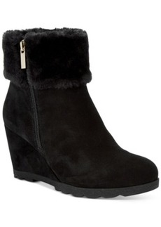 Alfani Women's Oreena Wedge Booties, Only at Macy's Women's Shoes