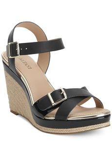 Alfani Women's Paytonn Espadrille Platform Wedge Sandals