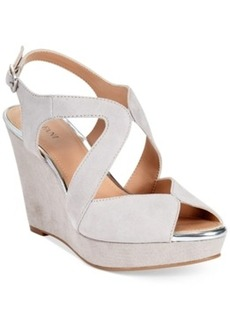 Alfani Women's Pellae Platform Wedge Sandals Women's Shoes