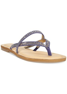 Alfani Women's Pirsey Embellished Thong Sandals
