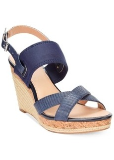 Alfani Women's Pursue Platform Wedge Sandals Women's Shoes