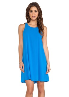 Alice + Olivia Audry Twisted Y Back Dress