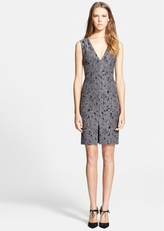 Alice + Olivia 'Baylee' Embroidered Sheath Dress