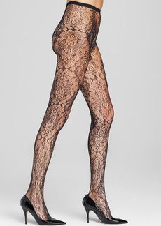 Alice + Olivia by Pretty Polly Crystal Covered Tights