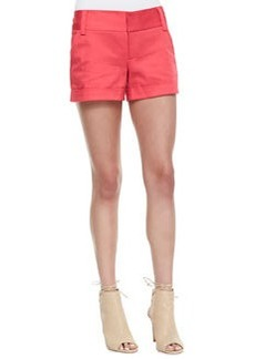 Alice + Olivia Cady Cuffed Shorts, Pink
