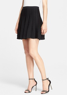 Alice + Olivia 'Chatley' Pleated Knit Skirt